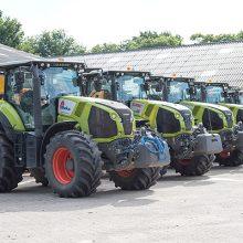 Vredestein suministrará neumáticos a los tractores Claas