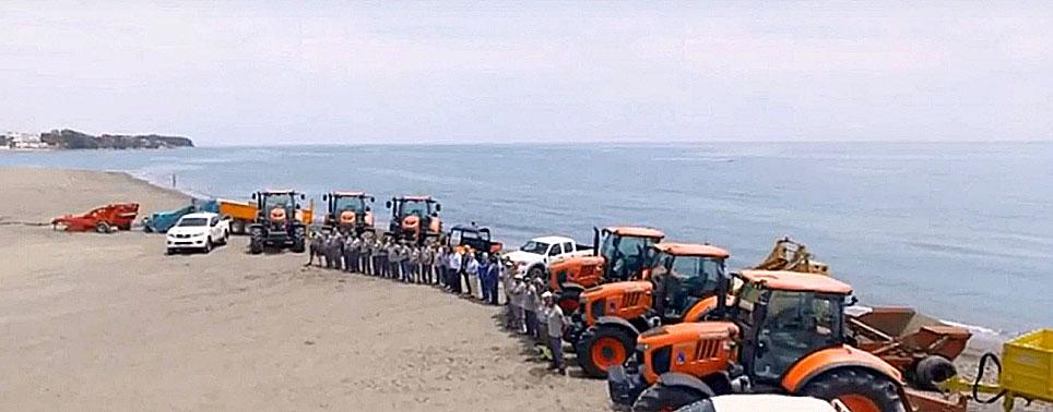 Kubota desembarca en Estepona