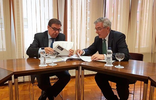 Luis Planas y Joaquín Olona