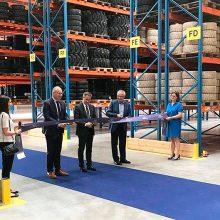 Nuevo centro logístico y oficina comercial de Trelleborg en Europa