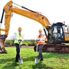 JCB construye una nueva fábrica en Inglaterra