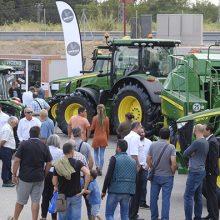 La zona de tractores de la Feria de Sant Miquel, al 100%