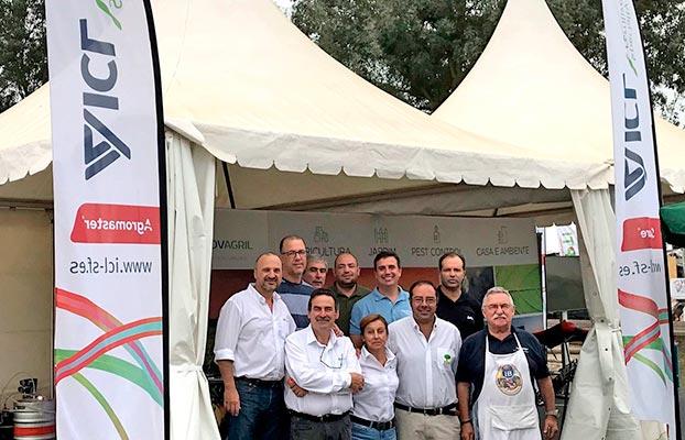 Equipo de ICL en Agroglobal 2018