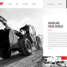 Nueva web corporativa de Manitou Group