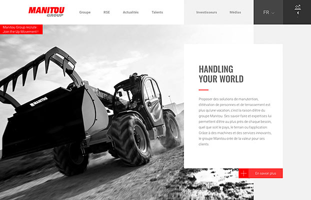 Nueva Web Manitou Group
