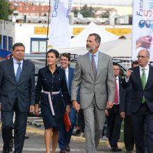 Los Reyes de España inauguran Salamaq 2018