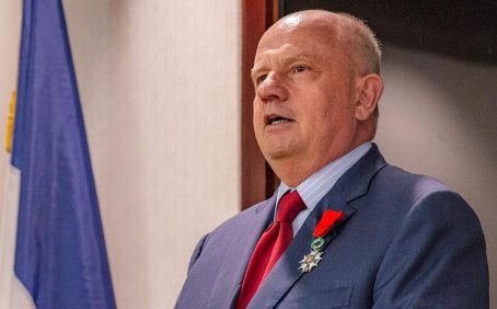 Martin Richnehager, Caballero de la Legión de Honor