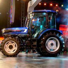 El tractor autónomo de Escorts Tractors equipará neumáticos Agrimax de BKT