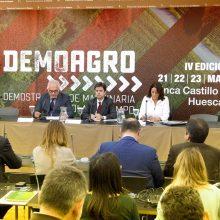 ANSEMAT presenta en Huesca la 4ª edición de Demoagro