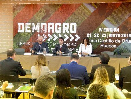 Presentación Demoagro 2019 en Huesca