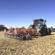 Farming Agrícola muestra en el campo los equipos de Faresin, Galucho y Amazone