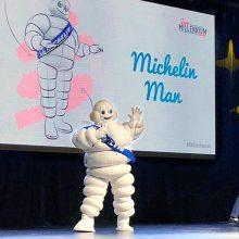 El Bibendum de Michelin, premio «Icon of the Millenium»
