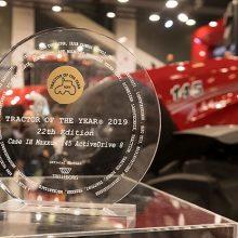 Maxxum 145 Multicontroller de Case IH: Tractor del Año y Mejor Diseño 2019