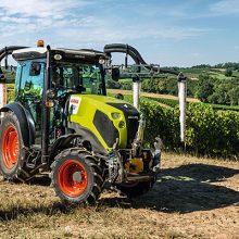 El tractor Nexos de Claas, ahora con eje delantero suspendido