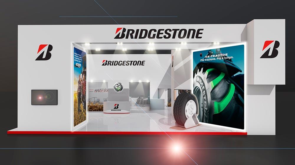Stand de Bridgestone en EIMA 2017
