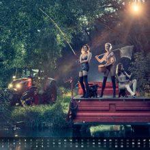 Calendario 2019 de Zetor Tractors