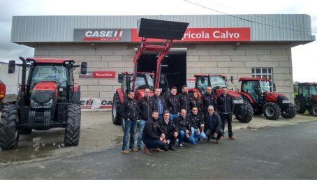 Agrícola Calvo, nuevo concesionario para Orense de Case IH