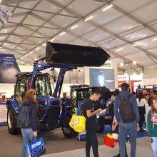 Farmtrac expuso su gama de tractores inteligentes en EIMA 2018