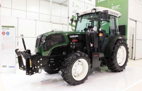 Ibrido, nuevo tractor de Carraro Tractors