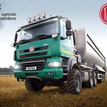Agrícola Castellana, distribuidor de camiones agrícolas Tatra