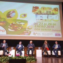 Luis Planas inaugura la XXXI edición de Agroexpo