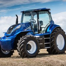 New Holland recibe el premio Good Design por su tractor de metano