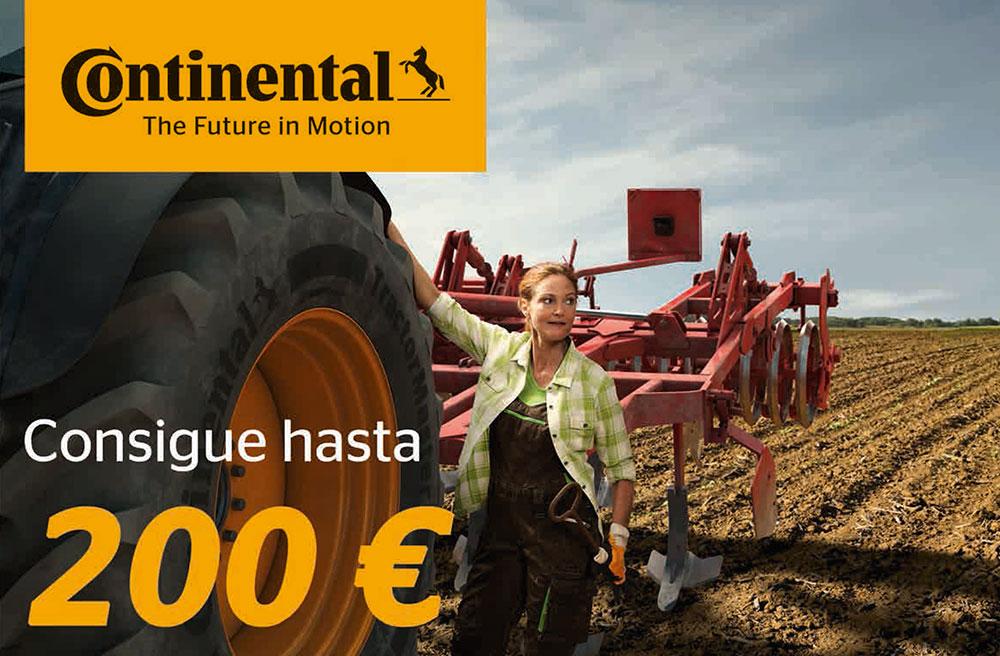 Descuento de hasta 200 euros de Continental
