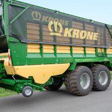 Krone mejora la comodidad en sus remolques autocargadores ZX