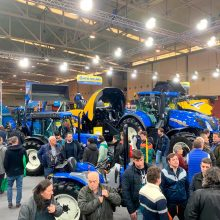 New Holland brilla en Agraria 2019
