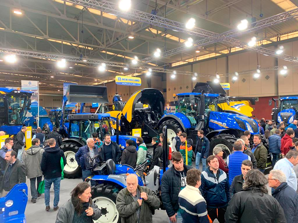 New Holland brilló en Agraria 2019