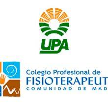 UPA y el Colegio de Fisioterapeutas de Madrid firman un convenio