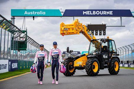 JCB se estrena en la F1