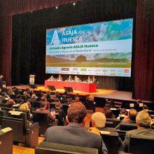 ASAJA Huesca abarrota el Palacio de Congresos en defensa del medio rural