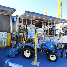 New Holland destacó en Expoliva 2019