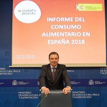 Luis Planas presenta el Informe de Consumo Alimentario en España 2018