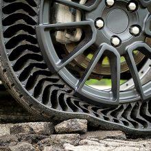 Michelin UPTIS, el neumático sin aire para turismos