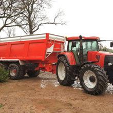"""Neumáticos BKT """"Flotation"""" para remolques agrícolas"""