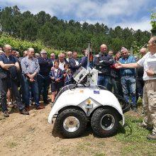 Gran acogida de la jornada sobre nuevas tecnologías en viticultura