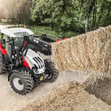 Steyr presenta sus nuevos tractores