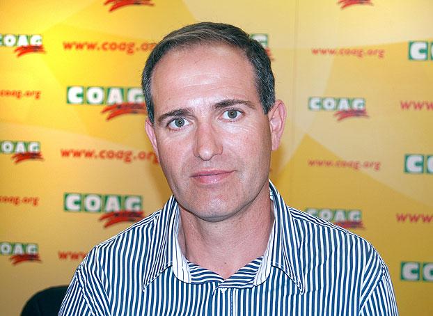 David Borda, Responsable del Sector de Fruta Dulce de COAG