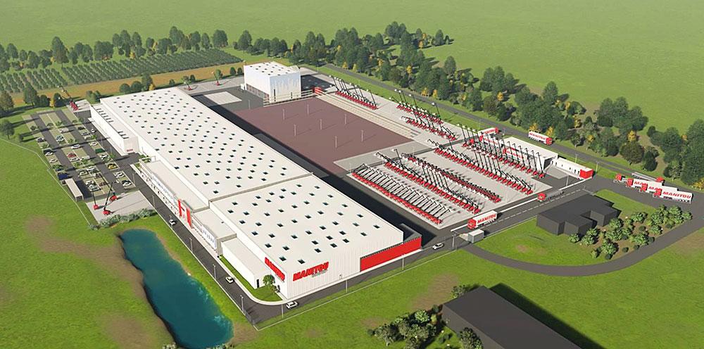 Fábrica de Manitou en Candé, Francia.