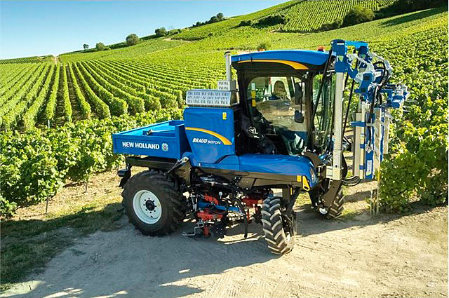 NEW HOLLAND MEDALLA DE ORO EN SITEVI