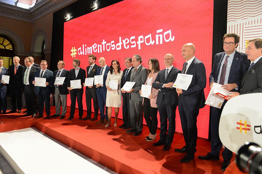 Entrega de los Premios Alimentos de España