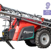 El pulverizador Kverneland iXtrack premiado por su diseño y ergonomía