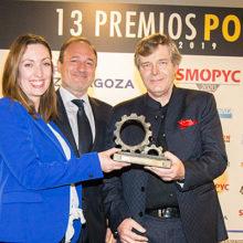 Manitou gana el premio Potencia 2019 al mejor implemento