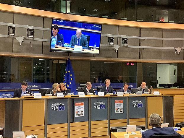 Cooperativas Agro-Alimentarias de España en el parlamento europeo