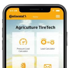 Continental presenta la nueva aplicación Agriculture TireTech