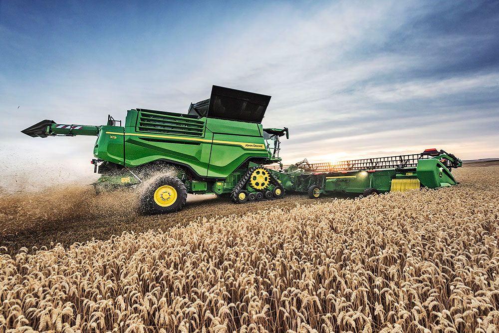 Nueva cosechadora X9 de John Deere