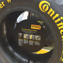 FIMA premia los sensores de presión y temperatura de los neumáticos Continental
