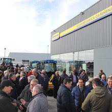 El concesionario de New Holland, Agromecánica Cariñena, inaugura nuevas instalaciones